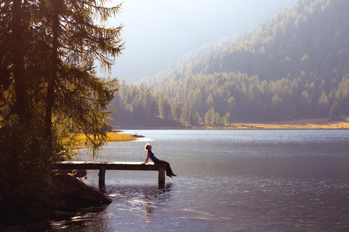 Honor your body's heightened sensitivity by spending time in quiet nature